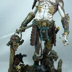 Samurai Predator, sculptured by Siji