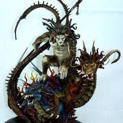 Ru Shou, sculptured by Skink Haunt
