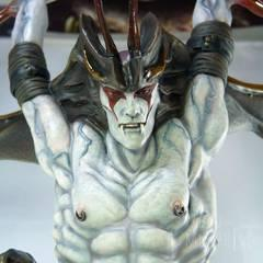 DevilMan, sculptured by Yasushi Nirasawa