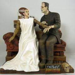 Bride of Frankenstein, sculptured by Jeff Yagher