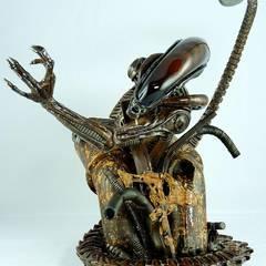 Alien3 Bust by Palisades, Repaint