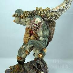 Chelonian Warrior, sculptured by Erik Sosa