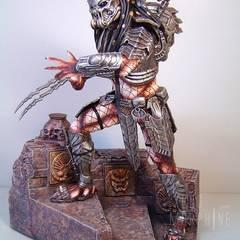 Celtic Predator, sculptured by Narin
