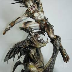 Hellbreed, sculptured by Narin